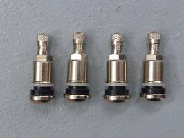 Reifenventile 4 Stück Stahl High Quality - Universal 11.3 mm