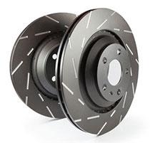 R34 GTR EBC Black Dash Disc 324x30-54 vorne USR1225