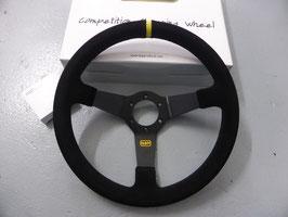 QSP Lenkrad 350mm Wildleder schwarz 70mm Dish