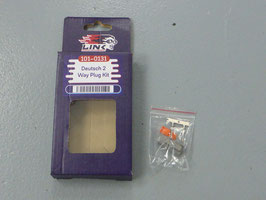 Link Deutsch 2 Way Plug Kit PKD2F 101-0131