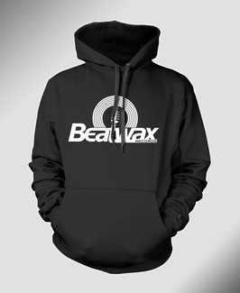 Beatwax Logo Hoodie schwarz