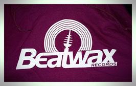 Beatwax Logo Hoodie maroon