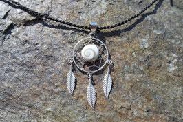 Dream Catcher Pendant with Shiva Eye