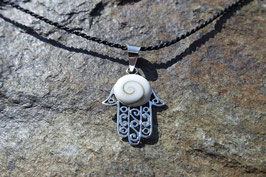 Hamsa Pendant with Shiva Eye