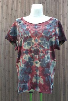 ✪ Tie Dye T-Shirt bat sleeve ✪ (TOP157)