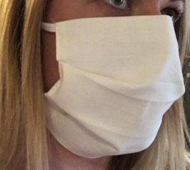 Mund-/Nasenschutzmaske 100% Baumwolle wiederverwendbar