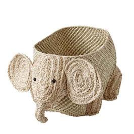 Elefant Raffia Korb