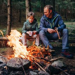 Feuer & Flamme - Feuer machen wie in der Steinzeit