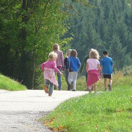 Abenteuerfamilienwanderung