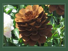 Edelrost Blume - Pinselblüte