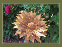 Edelrost Blume - Sunny Flower 01