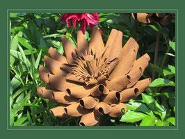 Edelrost Blume -  Gefüllte Dahlie V02