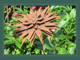 Edelrost Blume - Sunny Flower 05