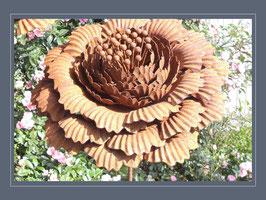 Edelrost Blume - Ranunkel - Sommerlich