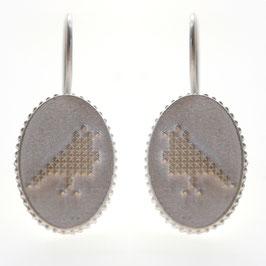 Duifjes oorbellen zilver