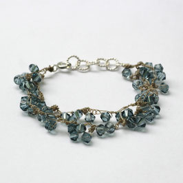 swarovski armband jeansblauw