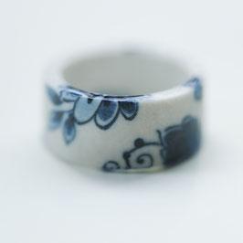 Ring delfts blauw