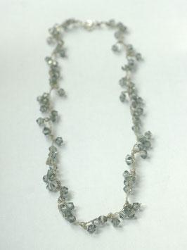 swarovski collier diamantgrijs s55