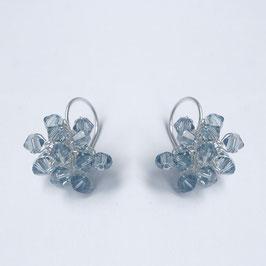 swarovski oorbellen jeansblauw o12zi