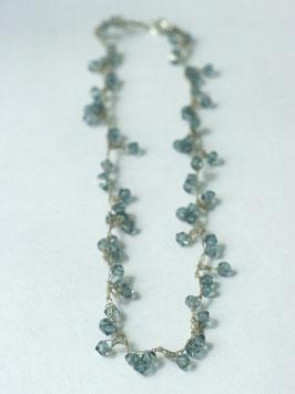swarovski collier jeansblauw s55