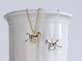 Kette Pferd Gold oder Silber
