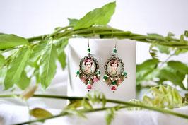 Ohrhänger Frida Blüten
