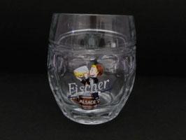 Lot de 6 chopes à bière Fischer / Lot of 6 Fischer beer glass tankards