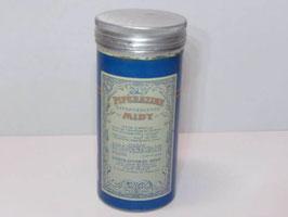 Boite ancienne en métal de médicament Pipérazine Midy / Old french pharmacy Piperazine Midy tin