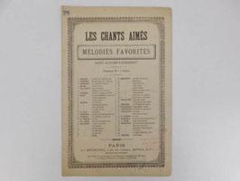"""Partition Les Chants aimés Pensée d'automne / """"Les chants aimés Pensée d'automne"""" sheet music"""