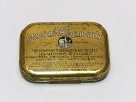 Boite métal pharmacie dragées Gargarisme de Luchon / Pharmacy drops Gargarisme de Luchon