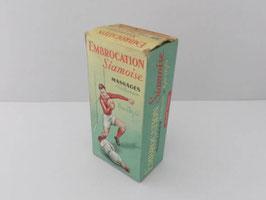 Ancienne boite de pharmacie Embrocation Siamoise / Old Embrocation Siamoise pharmacy box