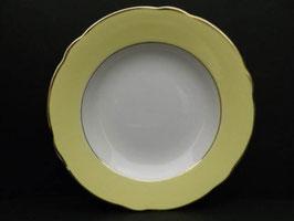 Assiette creuse Lunéville modèle Jonquille / Lunéville shallow bowl model Jonquille