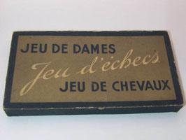 Boîte de jeux de voyage vintage / French vintage boxed travel game