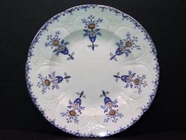 Assiette Longwy Cléopâtre / Longwy plate Cleopatra