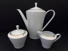 Service à café en porcelaine / Porcelaine coffee set