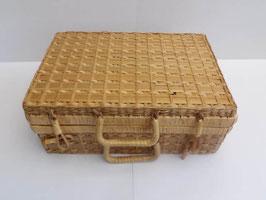 Panier à pique-nique en osier / Picnic hamper wicker basket