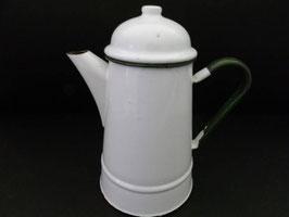 Verseuse à café en métal émaillé / Enamel coffee pot