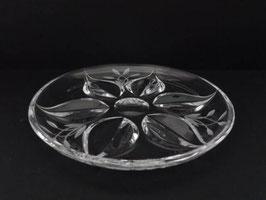 Plat en cristal / Crystal dish