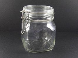 Bocal en verre vintage Fido / Vintage Fido glass jar