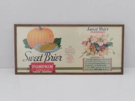 Sweet Brier Pumkin - Etiquette originale / Sweet Brier Pumkin original can label