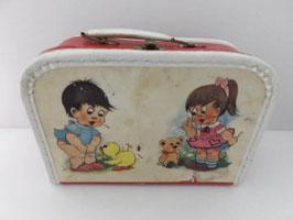 Valisette vintage pour poupée / Vintage Doll suitcase