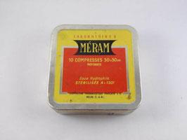 Boite en métal Méram / Méram tin