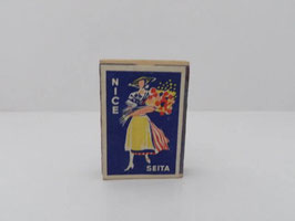 Boite ancienne d'allumettes de sureté Seita Nice / Vintage French Seita Nice matchbox