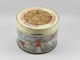 Boite en métal des caramels d'Isigny / Isigny caramel tin