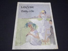 Catalogue ancien de mode Au Louvre Paris années 1920 / Antique french fashion catalogue Au Louvre Paris 1920s