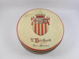 Boite en métal Confiseur L. Béchard / L. Béchard sweet tin