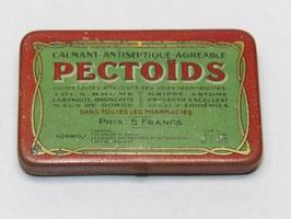 Boite ancienne de médicament Pectoids / Pectoids pharmacy old tin