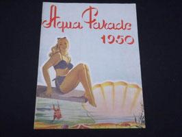 Programme Aqua Parade 1950 / French Aqua Parade programme 1950