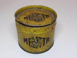 Boite métal  Melitta encaustique St Wandrille / Polish St Wandrille Melitta tin