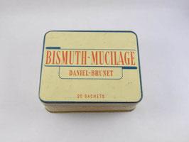 Boite en métal Bismuth-Mucilage / Bismuth-Mucilage tin